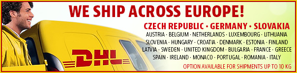 We ship across Europe!